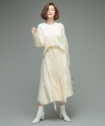 【MALHIA KENT/マリア・ケント】コンビスカート(スカート)