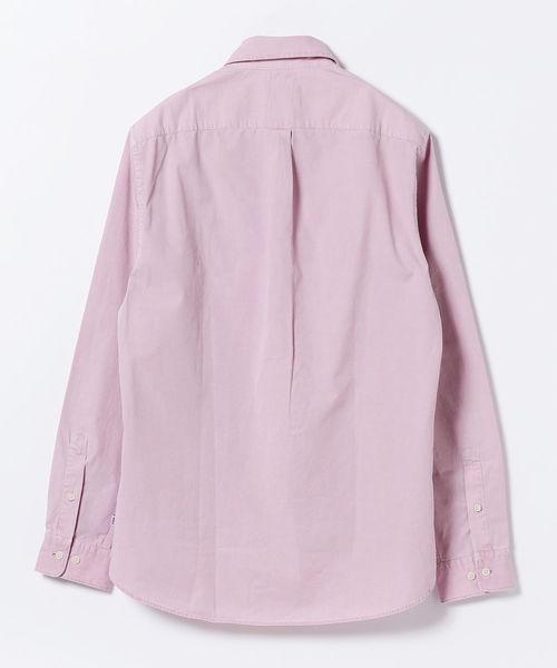 WAX LONDON / 後染めカラー ボタンダウン シャツ