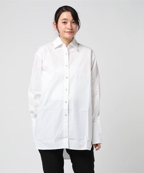 ELIZABETH AND JAMES エリザベスアンドジェームス / ロング丈 ホワイトシャツ