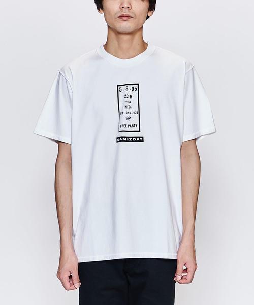 <SAMIZDAT> FREE PARTY TEE/Tシャツ
