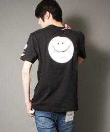 【STAPLE×Coca Cola×Smile】トリプルネーム 両面プリント半袖Tシャツ(Tシャツ/カットソー)