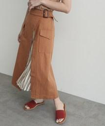 OZOC(オゾック)のスリットプリーツスカート(スカート)