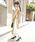 La-gemme(ラジエム)の「【半袖/長袖】サイドプリーツロングワンピース(ワンピース)」 詳細画像