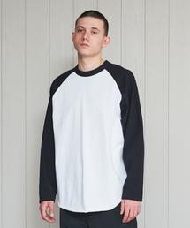 <H>RAGLAN SLEEVE LONG T-SHIRT/Tシャツ