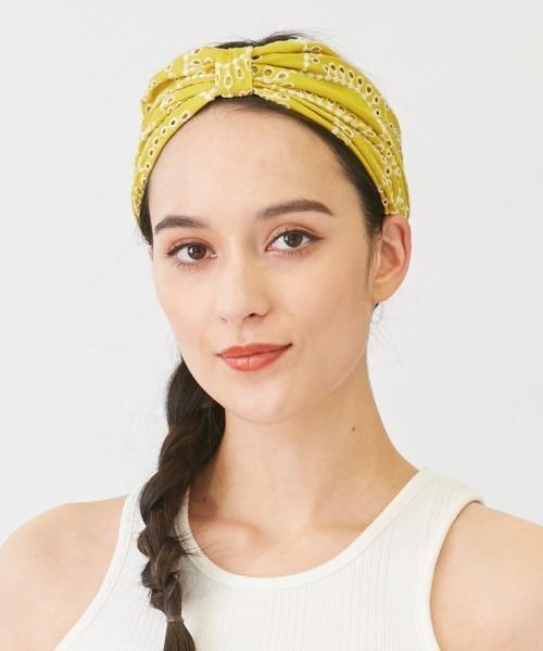 【Chapeaud'O】Headband Scarf / 【シャポードオー】ヘッドバンド スカーフ