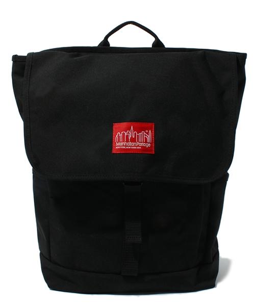 Manhattan Portage(マンハッタンポーテージ)の「Washington SQ Backpack -ワシントンスクエア バックパック-(バックパック/リュック)」|ブラック