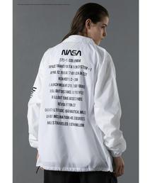 <NASA × monkey time> COACH JACKET/コーチジャケット