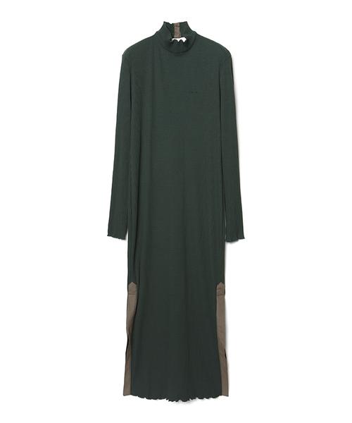 Ribbed Long Dress