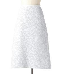 Drawer フクレジャカードニットスカート