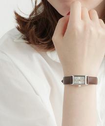 ete(エテ)のウォッチ レクタングルフェイス ダイヤモンド(腕時計)