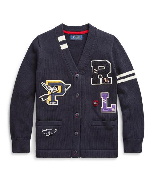 全てのアイテム コットン レターマン レターマン カーディガン(カーディガン) Polo RALPH Ralph Lauren Childrenswear(ポロラルフローレンチャイルドウェア)のファッション通販, カイタチョウ:6e3af2e4 --- stratagemfx.com