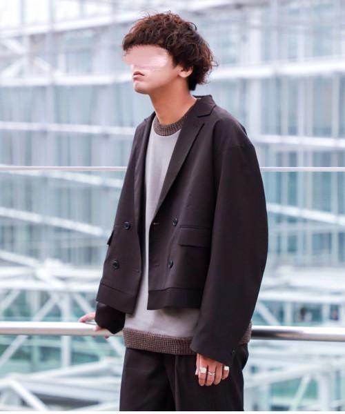 【一部予約販売】 WEARISTA にっしー INTER × FACTORY SHORT INTER FACTORY SHORT LENGTH OVER OVER JACKET(テーラードジャケット)|INTER FACTORY(インターファクトリー)のファッション通販, 和物屋:71a244bf --- tsuburaya.azurewebsites.net