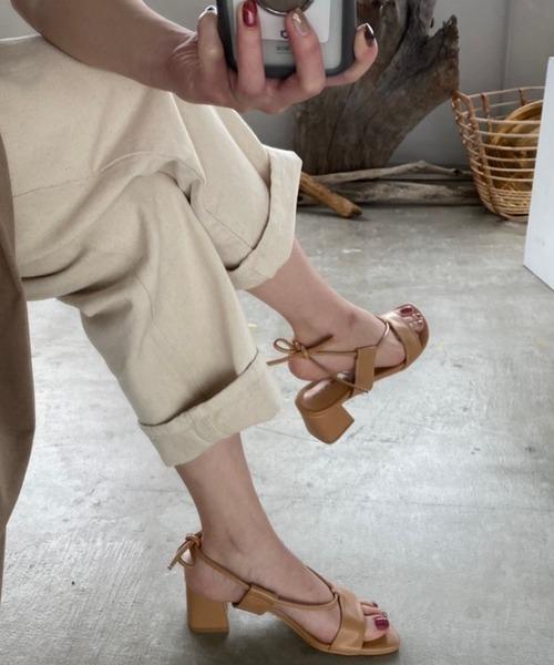 【chuclla】Cord -strap sandal sb-6 chs11