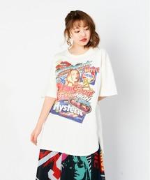 HG SOCIAL CLUB オーバーサイズTシャツホワイト