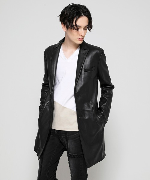 TIGHT FIT Lamb Leather CHESTER COAT