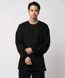 mnml(ミニマル)の【mnml】DROP L/S TEE(Tシャツ/カットソー)