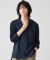 STUDIOUS(ステュディオス)の【STUDIOUS】ヴィストリクスオープンカラーシャツ(シャツ/ブラウス)