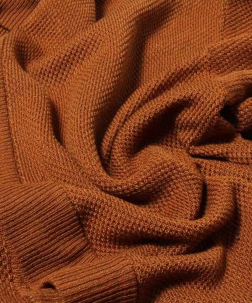 FUNALIVE(ファンアライブ)の「【IFRUN ORIGINAL】鹿の子編み釦レスカーディガン(カーディガン/ボレロ)」 詳細画像