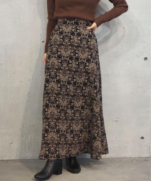 tiptop(ティップトップ)の「【web限定】アソートAラインロングスカート(スカート)」|B