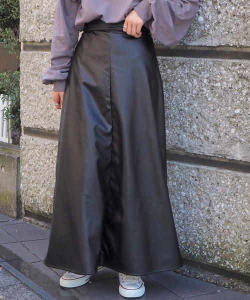 tiptop(ティップトップ)の「アソートAラインロングスカート(スカート)」|H