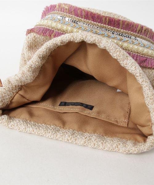 装飾巾着バッグ