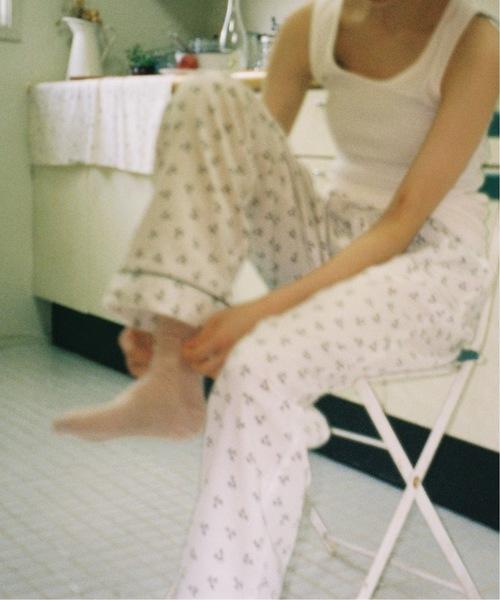 Charles Chaton(シャルルシャトン)の「CC pajamas(ルームウェア/パジャマ)」|ホワイト