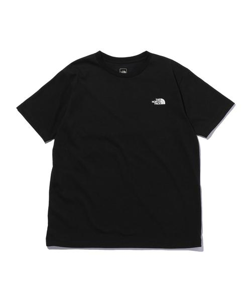 <THE NORTH FACE> SQ LOGO TEE/Tシャツ