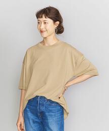 【別注】<SHELTECH>パッケージワイドTシャツ