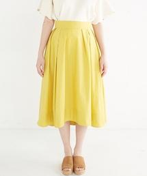 haco!(ハコ)のきれい色のイレギュラーヘムスカート(スカート)