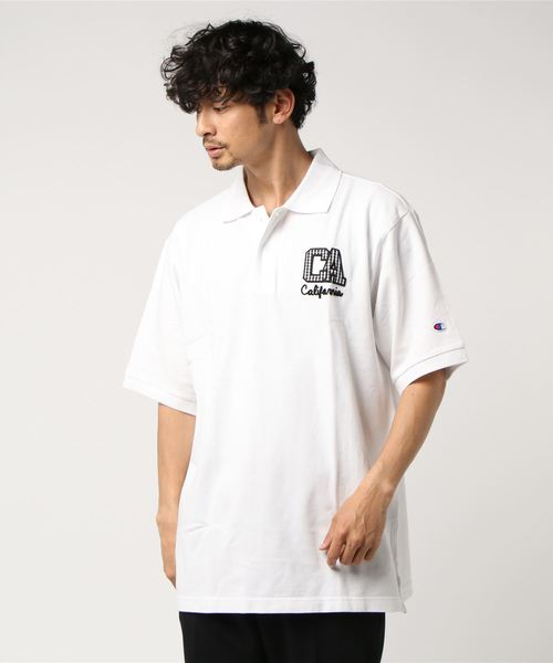 【OUTLET STORE PRICE】【Champion/チャンピオン】CAMPUS (キャンパス) 大きいサイズ ポロシャツ