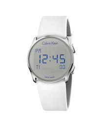 CALVIN KLEIN WATCHES+JEWELRY(カルバン・クライン ウォッチ&ジュエリー)の[カルバンクライン] CALVIN KLEIN 腕時計 Future(フューチャー) デジタル シルバー×シルバー(腕時計)