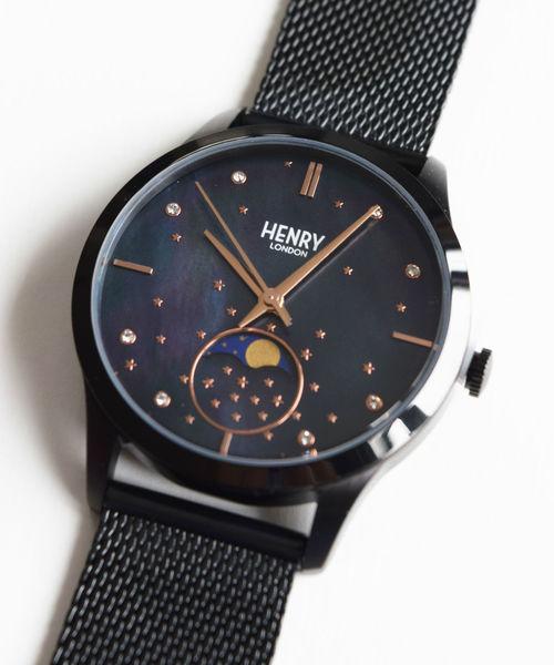 定番  ムーンフェイズ Henry HL35-LM-0326/ヘンリーロンドン Henry London BK(腕時計)|HENRY LONDON(ヘンリーロンドン)のファッション通販, Mahogany:c67b5cc1 --- 5613dcaibao.eu.org