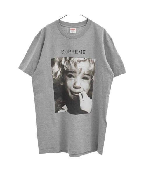 偉大な 【ブランド古着】クライベイビーフォトプリントクルーネック半袖Tシャツ カットソー(Tシャツ/カットソー)|Supreme(シュプリーム)のファッション通販 - USED, 公式の :cdf2bcf2 --- icsbestway.ru