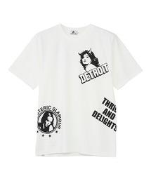 DETROIT SCRATCH Tシャツホワイト