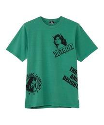 DETROIT SCRATCH Tシャツグリーン