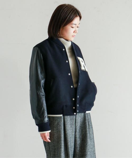 【Fabric in Italy】イタリアンウール スタジャン