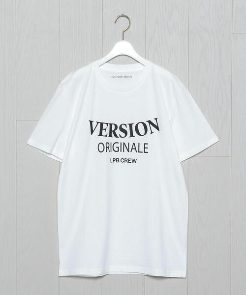<Les Petits Basics>LOGO T-SHIRT/Tシャツ.