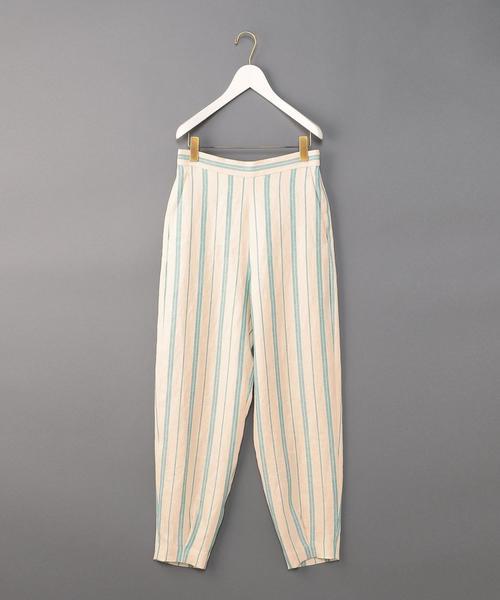 <6(ROKU)>TUCK BACK ZIP PANTS/パンツ