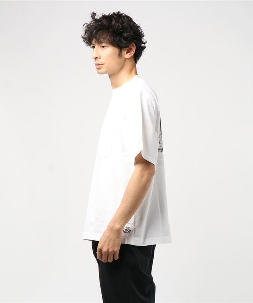 THRIFTY LOOK/スリフティールック 'YALE'PHOTO POCKET TEE