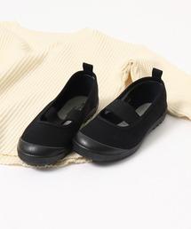 【MOONSTAR / ムーンスター】KIDS BALLET 上履きスニーカーブラック