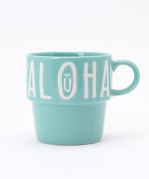 Kahiko(カヒコ)の【kahiko】ALOHAスタッキングマグカップ(グラス/マグカップ/タンブラー)