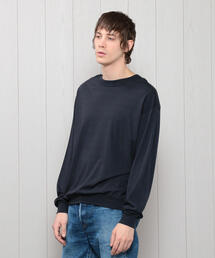 <H>CREW NECK PULLOVER/カットソー