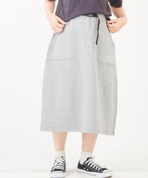 CUBE SUGAR(キューブシュガー)の裏毛 スウェットスカート(スカート)