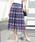 ViS(ビス)の「【WEB限定】レースプリーツスカート(スカート)」|レッド系その他