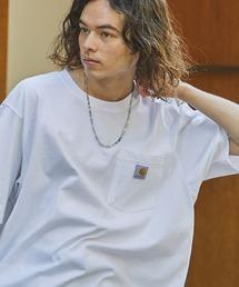 Carhartt(カーハート)のCarhartt  カーハート / ビッグサイズ ワンポイントロゴ 半袖Tシャツ カットソー(Tシャツ/カットソー)