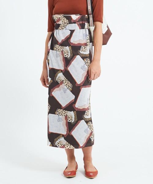 激安な コットンボイルベッドルームプリント THEATRE ラップスカート(スカート)|THEATRE PRODUCTS(シアタープロダクツ)のファッション通販, サエキチョウ:aa2e71b0 --- steuergraefe.de