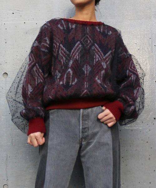 ドットチュールコズビーセーター