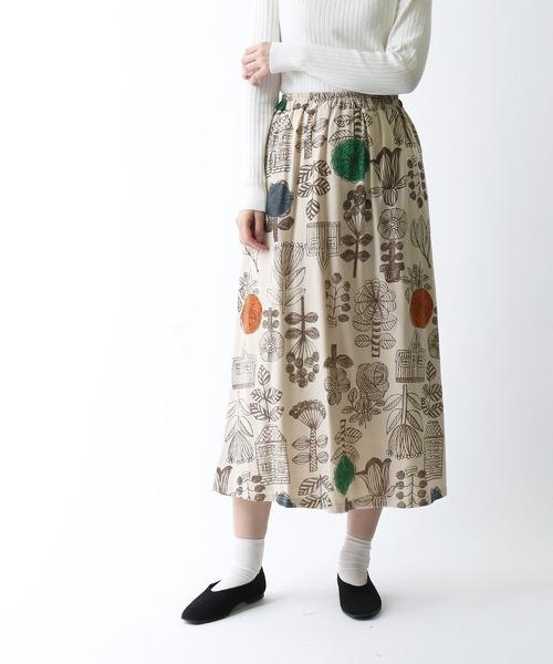 【 BARNDOOR / バーンドア 】 20-T/Cスカート 1142141G BUR
