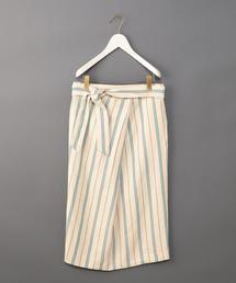 <6(ROKU)>TUCK TIGHT SKIRT/スカート ◆