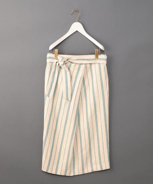 <6(ROKU)>TUCK TIGHT SKIRT/スカート